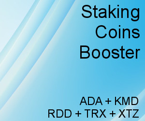 Staking Coins Booster